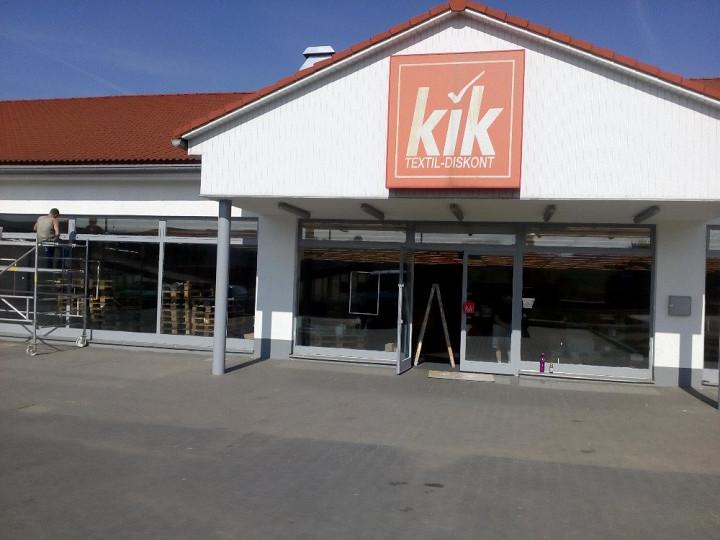 Renovace prodejen Kik