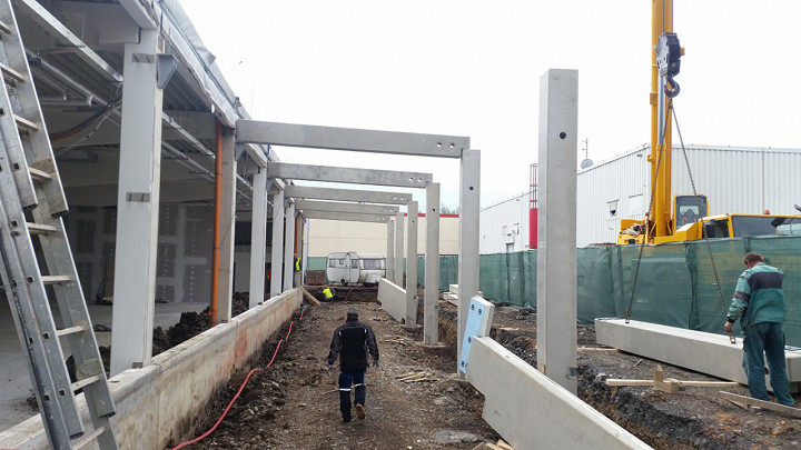 Přestavba obchodního centra